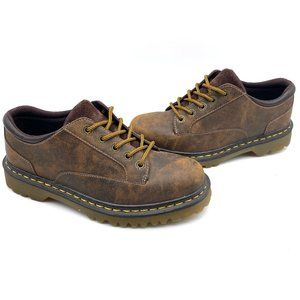 Dr. Martens Abilene Oxford Brown Leather Boots